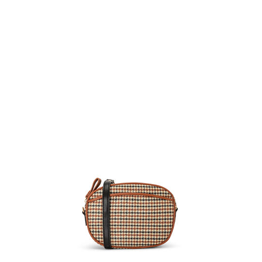Koan houndstooth mini shoulder bag