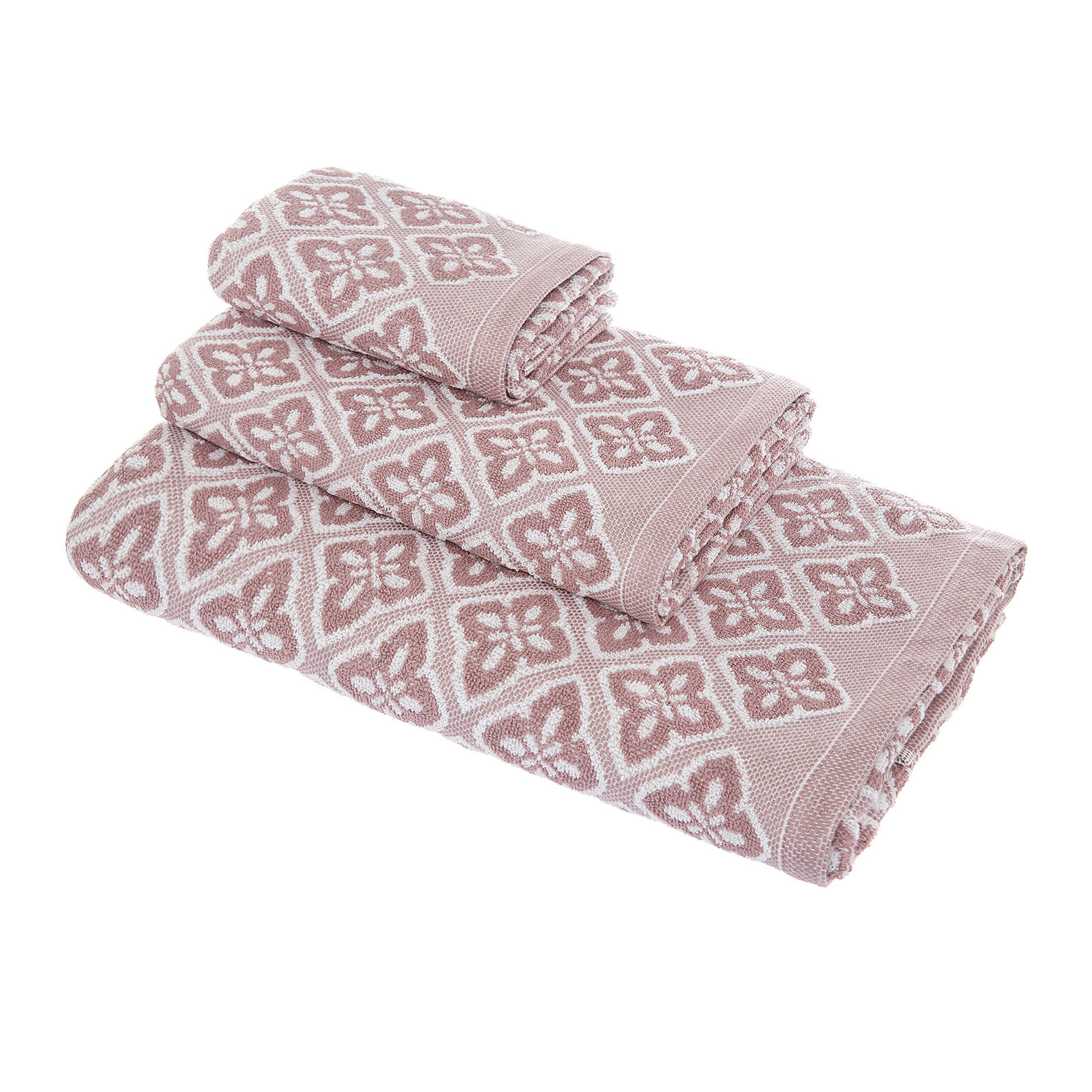 100% cotton decorated towel