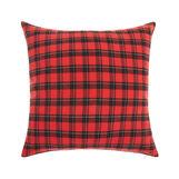Check motif cushion 45x45cm