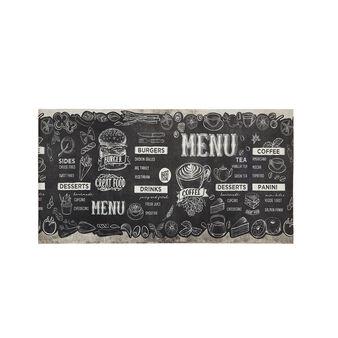 Tappeto da cucina PVC stampa food