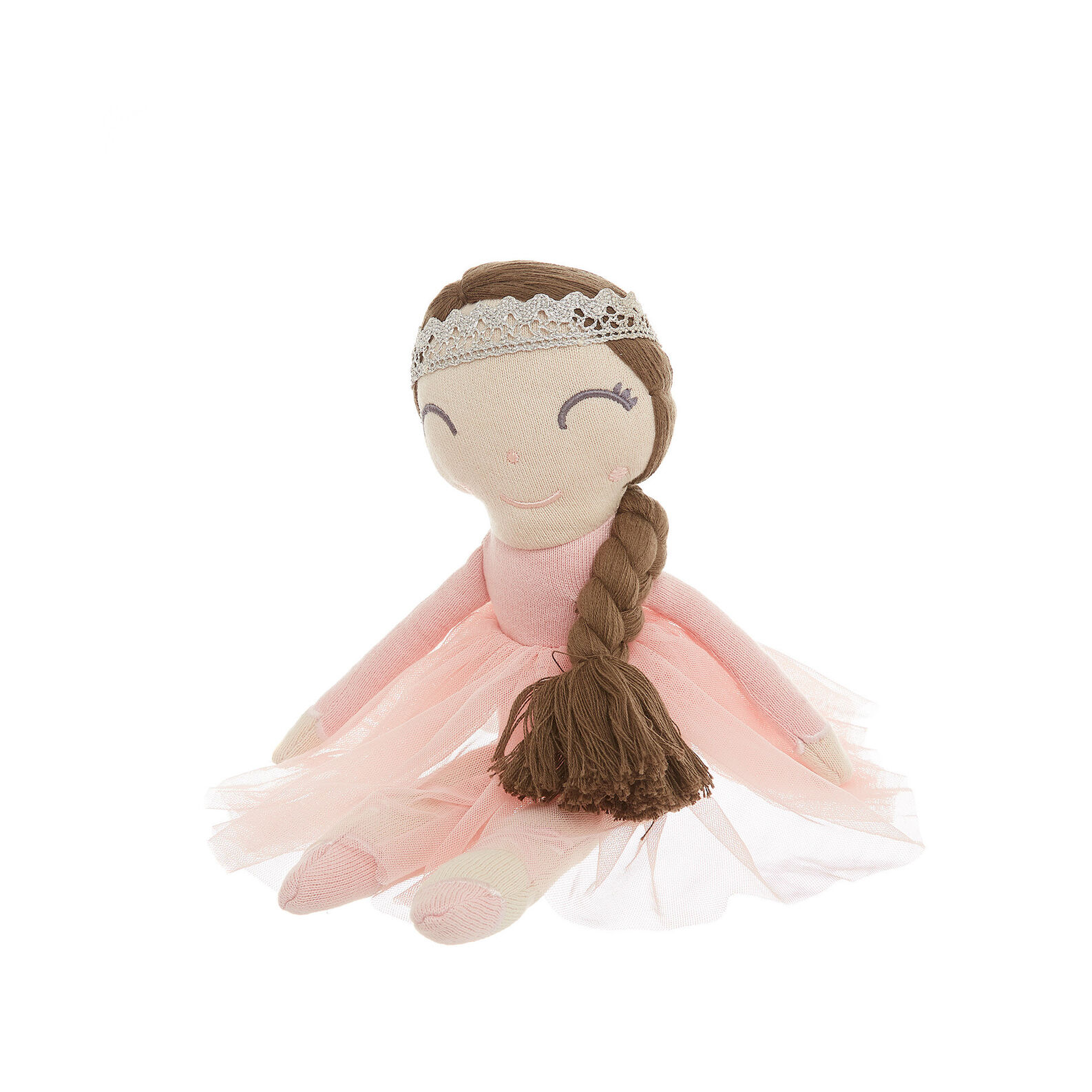 Princess soft toy in cotton
