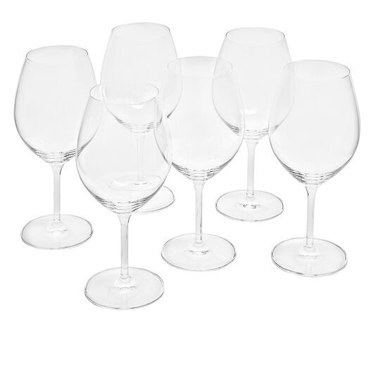 Set of 6 Cru wine goblets