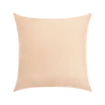 Natural colour 100% silk cushion cover 45x45cm