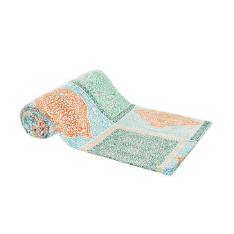 100% cotton ethnic pattern throw