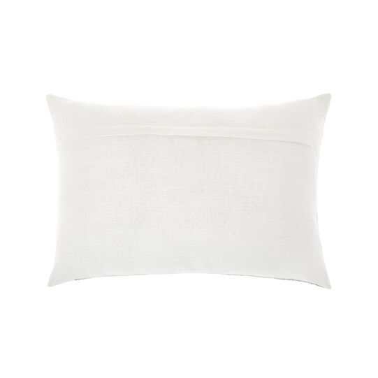 Cushion with globe print 35x50cm