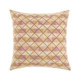Jacquard geometric cushion 45x45cm