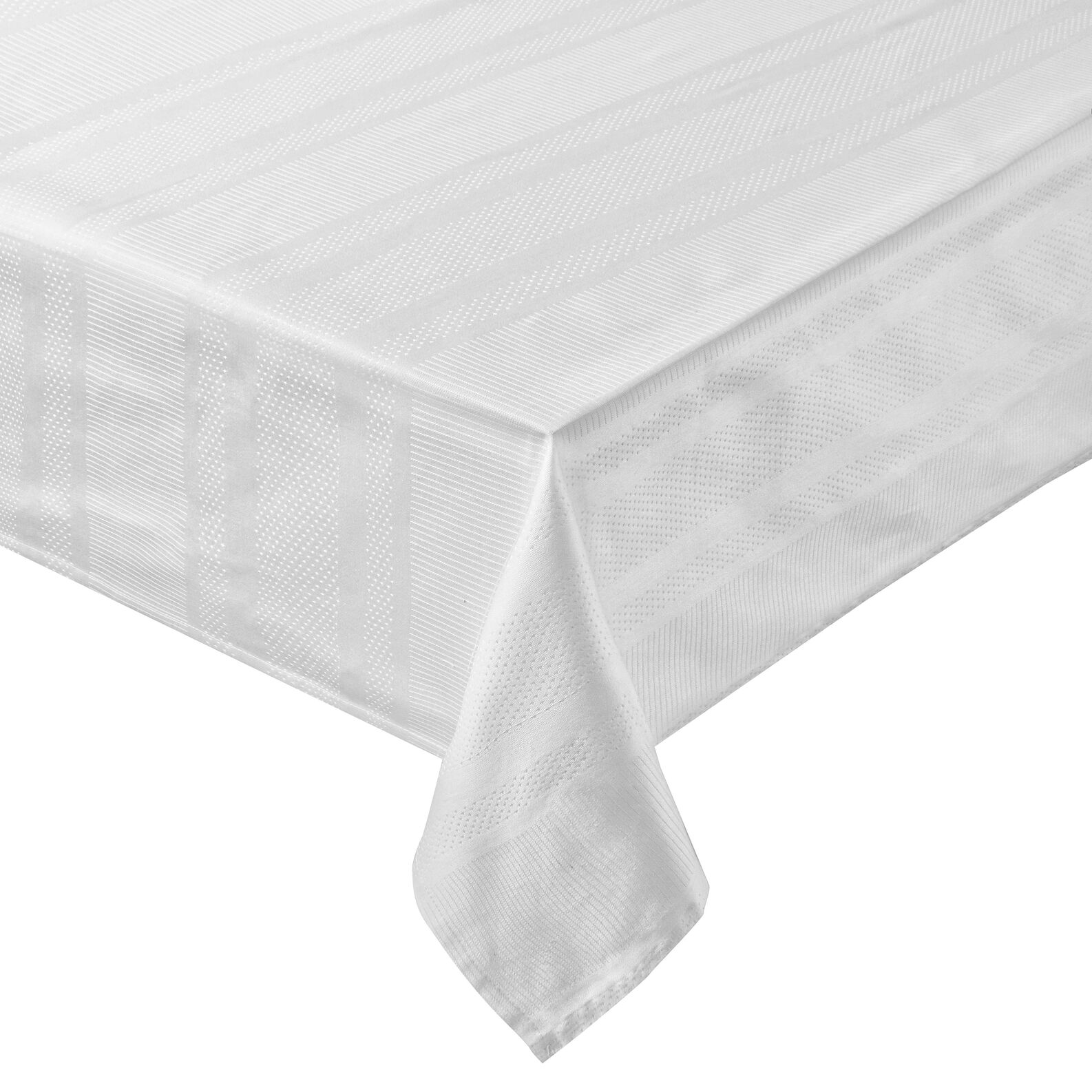 Tablecloth in 100% Egyptian cotton jacquard