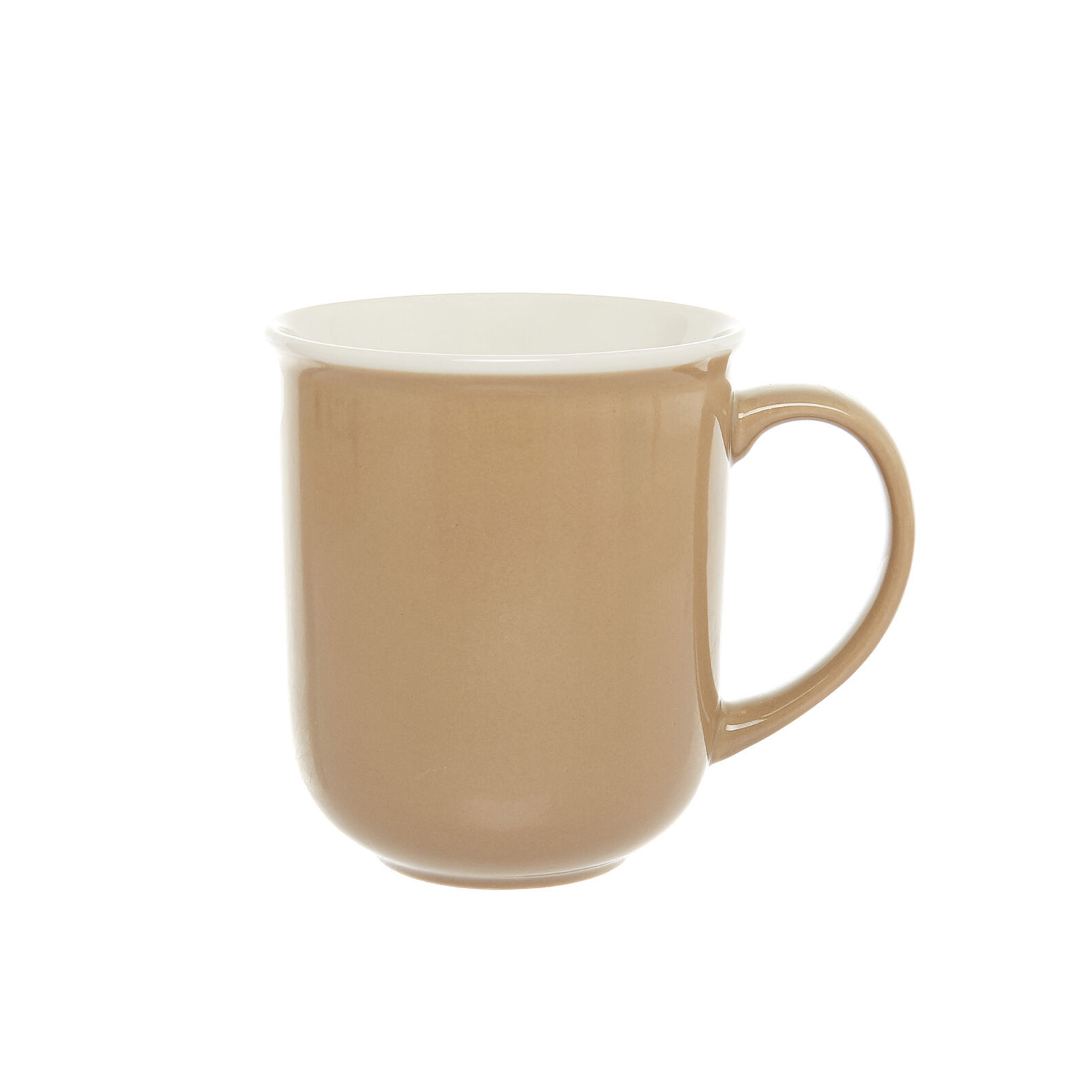 Solid colour mug in new bone China