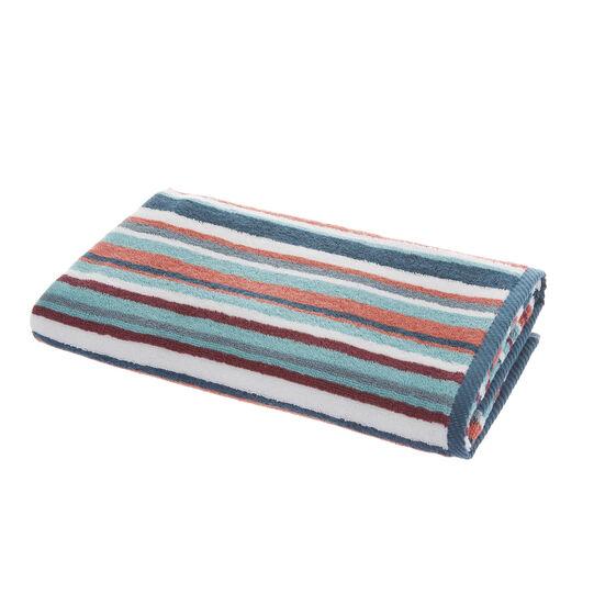 100% cotton striped towel