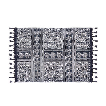 Table mat in 100% oriental cotton