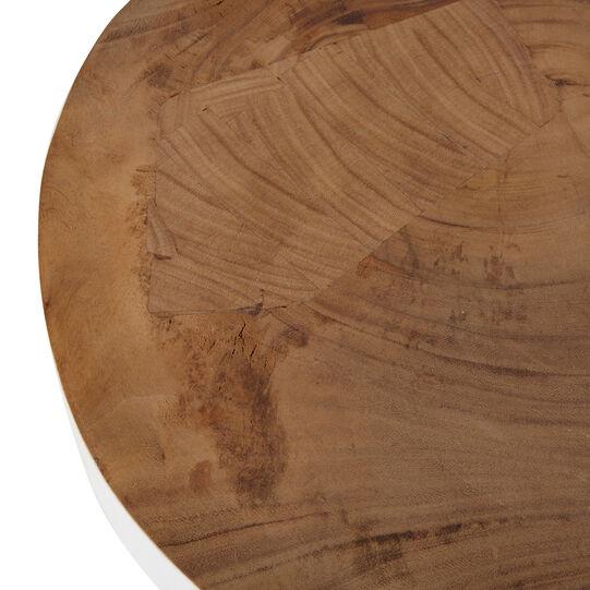 Katiga coffee table in mahogany wood