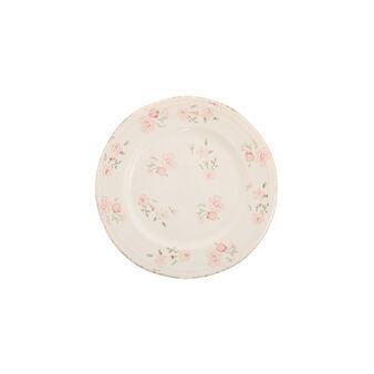 Floral ceramic side plate