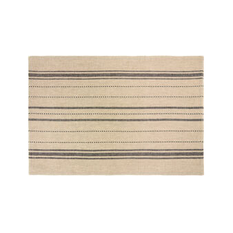 Yarn-dyed 100% cotton table mat