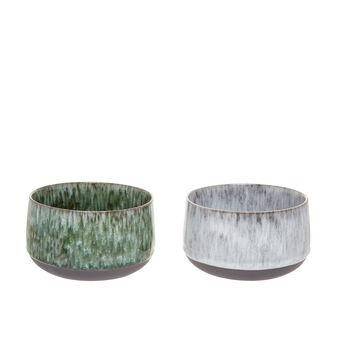 Antique effect porcelain bowl