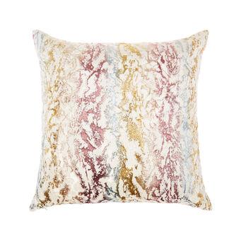 Velvet marble cushion 50x50cm