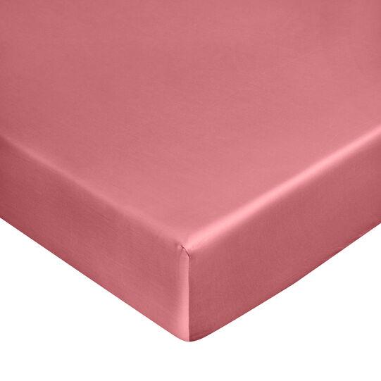 Zefiro pure cotton satin fitted sheet