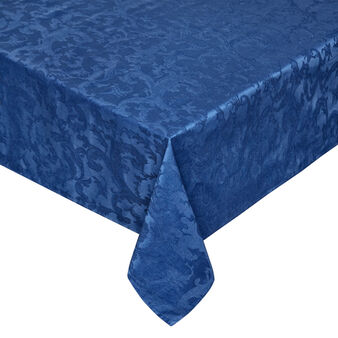 Tablecloth and napkins set in 100% cotton jacquard