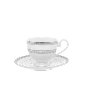 Tazza da tè new bone china con decoro
