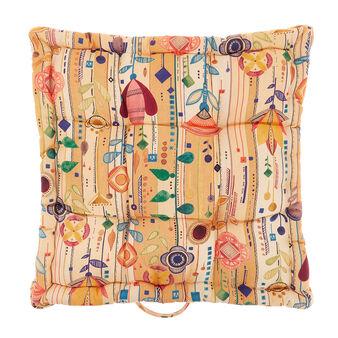 Cuscino materasso cotone stampa fiori