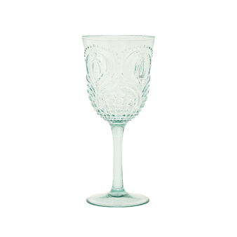 Detailed plastic goblet