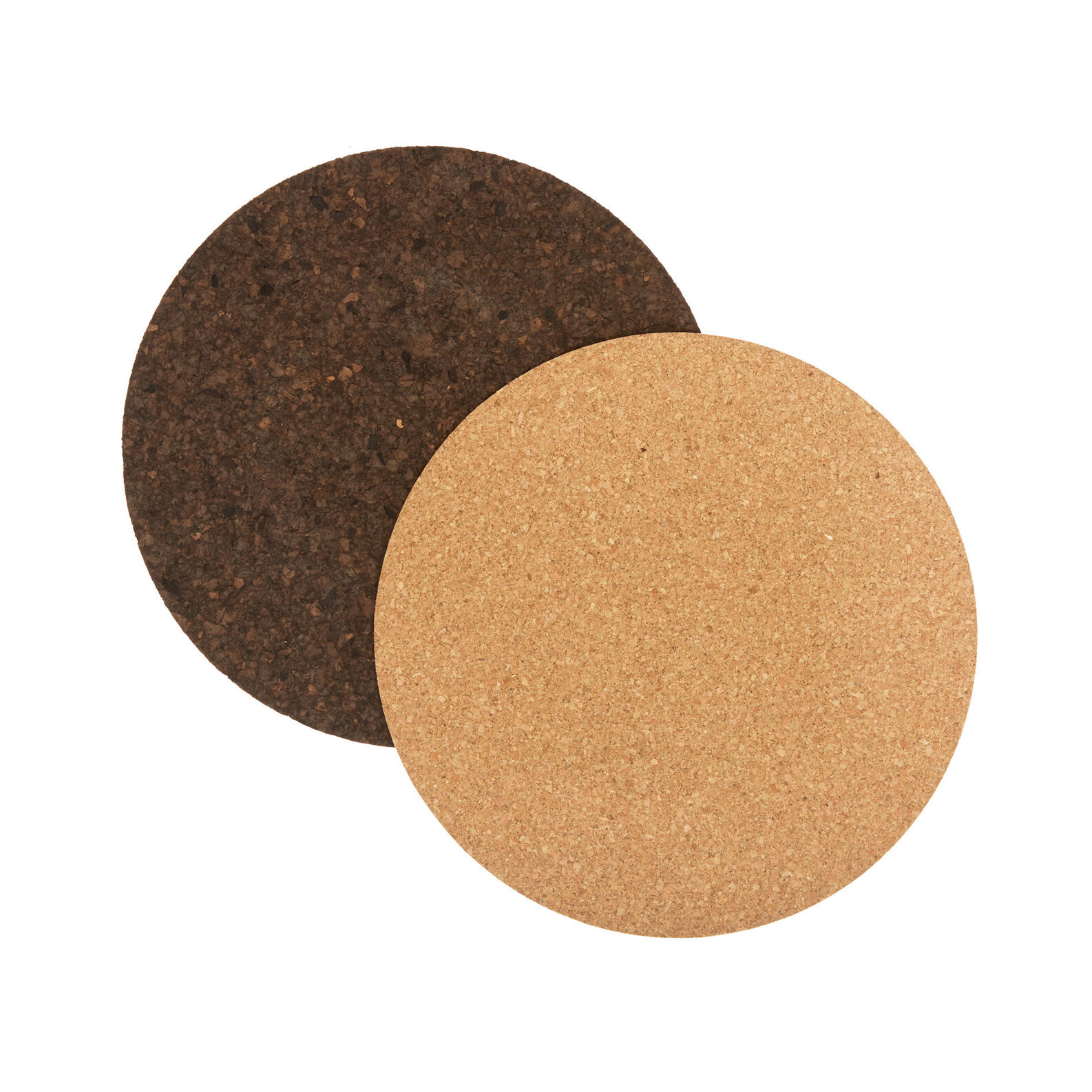 Round cork table mat