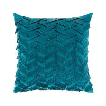 Cotton velvet cushion 45x45cm