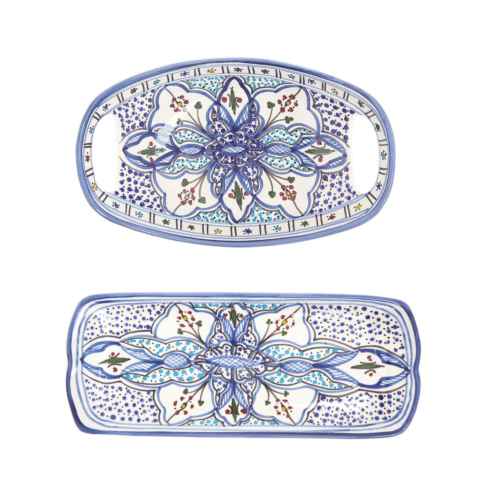 Piatto ovale ceramica artigianale UNIDO