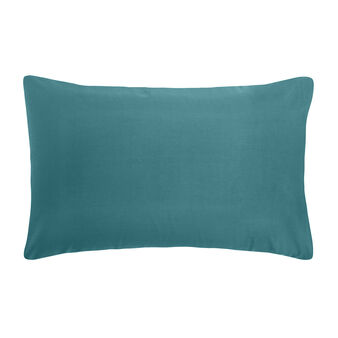 Solid color percale cotton pillowcase