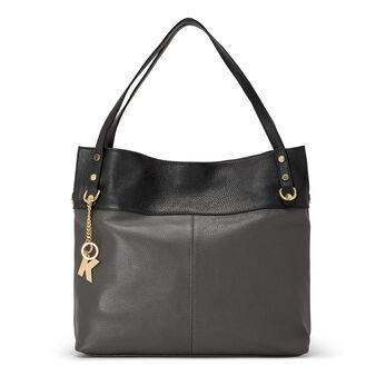 Koan Shopping bag in genuine leather