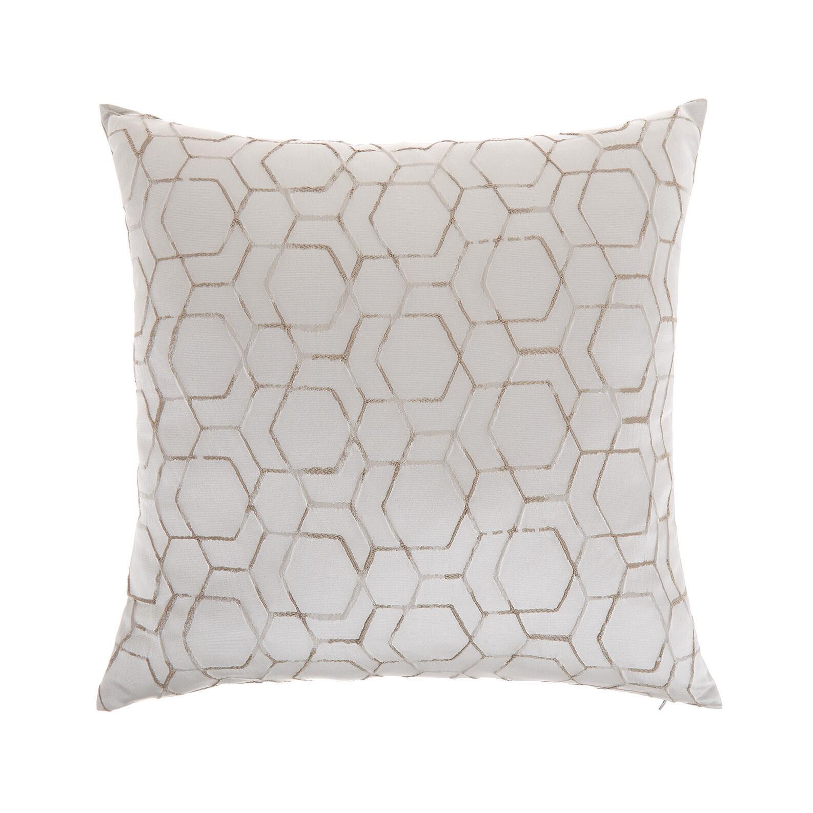 Cushion with geometric foil print 45x45cm