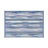 Cotton terry striped towel