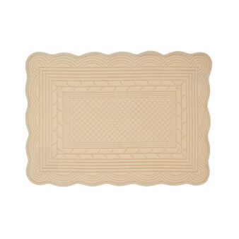 100% cotton quilted table mat