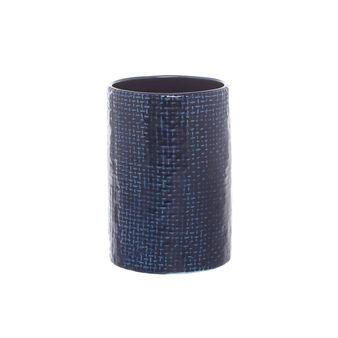 Portaspazzolini ceramica motivo geometrico