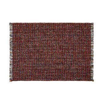 Tovaglietta in tweed con frange