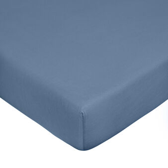 Cotton jersey fitted sheet