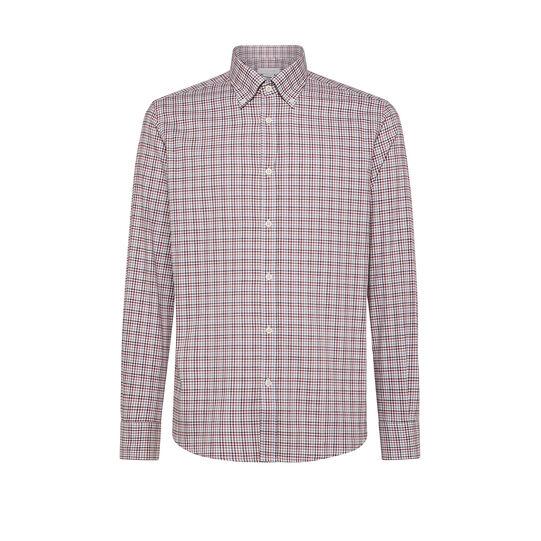 Camicia button-down tailor fit in cotone organico