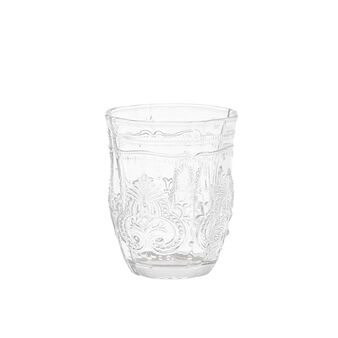 Ground glass tumbler