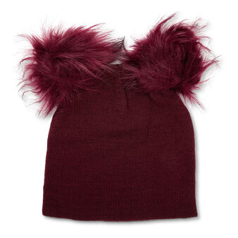 Koan beanie hat with pom pom