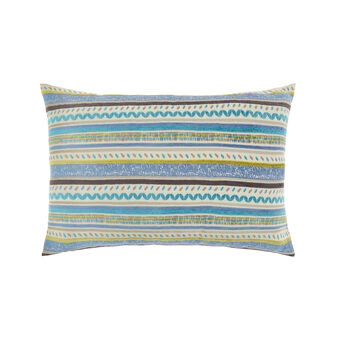 Cushion with striped motif 35 x 55 cm
