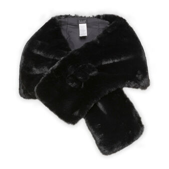 Koan fur effect cape