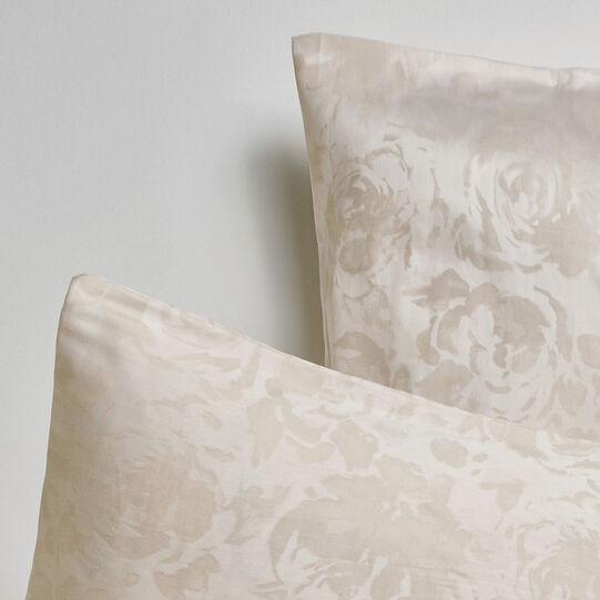 Portofino rose duvet cover in 100% cotton percale