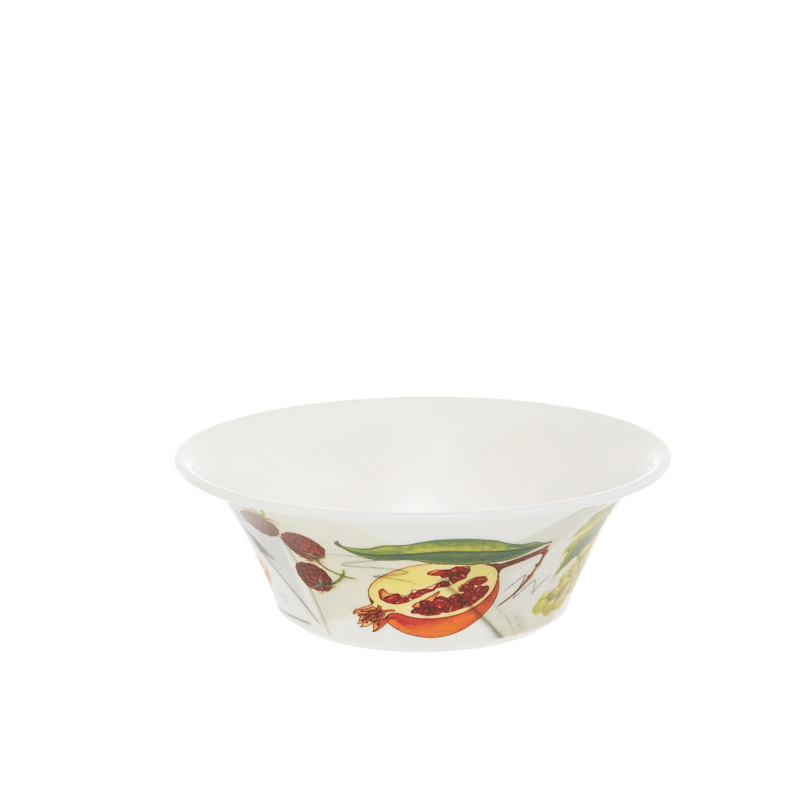 Small fine bone china bowl with vegan La Cucina Italiana decoration