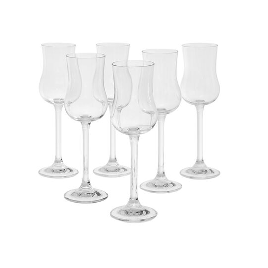 Set of 6 Kolibrì grappa goblets