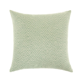 Cotton and viscose jacquard cushion (45x45cm)