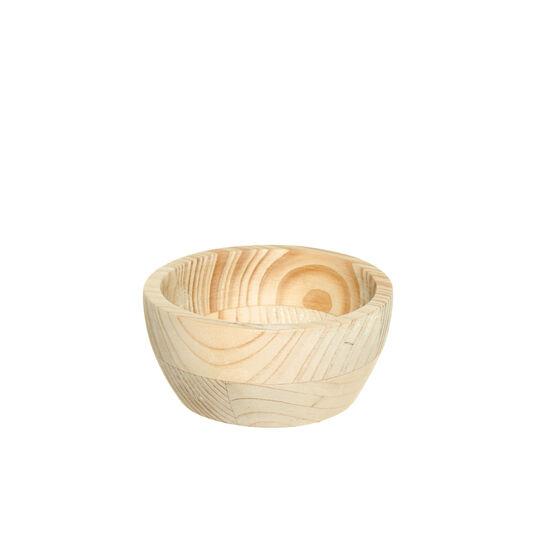 Coppetta legno naturale