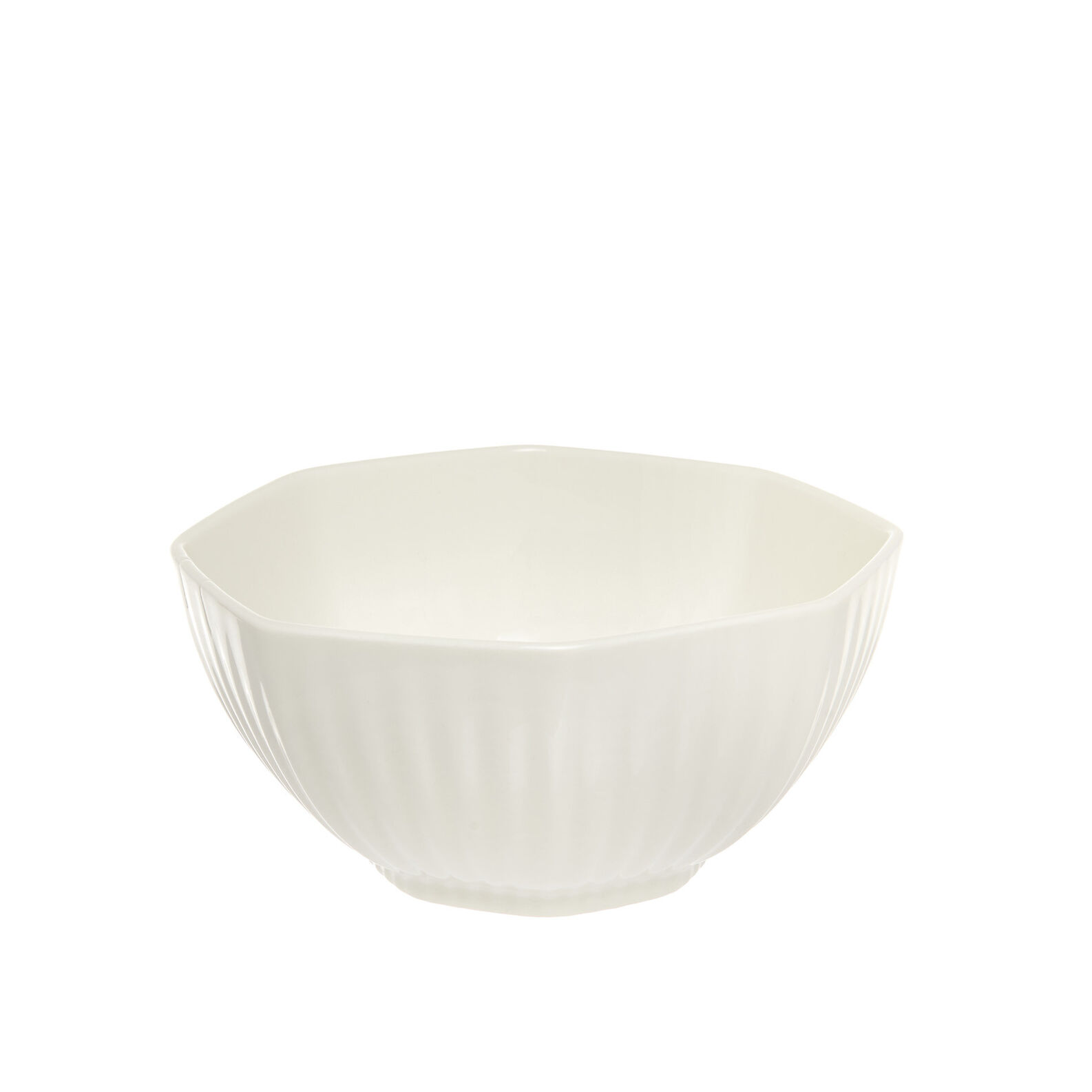 Striped porcelain bowl