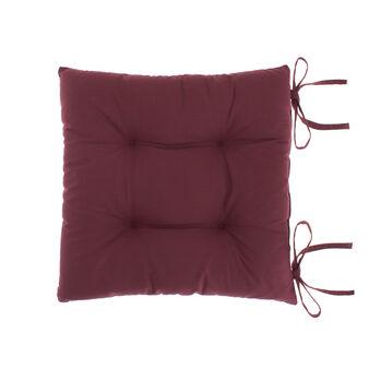 Solid colour 100% cotton seat pad