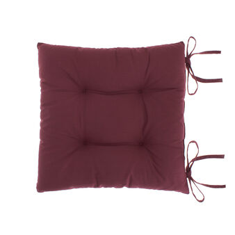 Solid colour 100% cotton seat pad