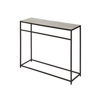 Consuelo console table in aluminium and iron