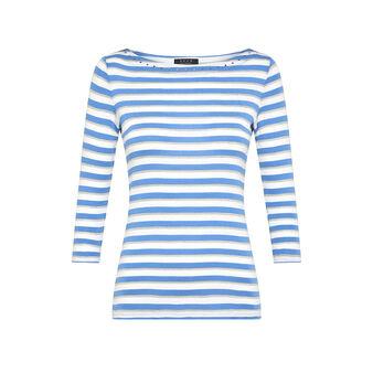 T-shirt puro cotone con borchiette Koan